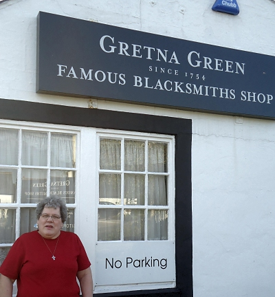 Blacksmith Shop at Gretna Green